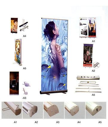 Roll-up banner - Sisteme de afisaj